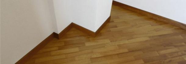 Pisos de madera brendo colocaciones terminaciones y for Zocalos de madera